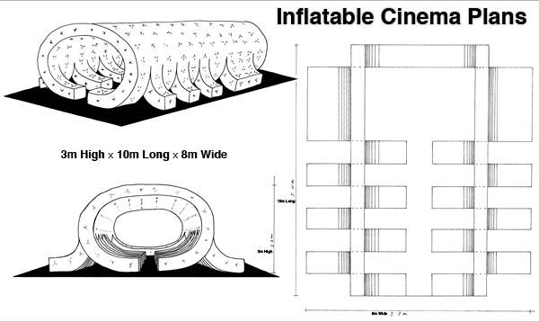 15SFF Inflatable Cinema Plans